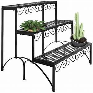 Etagere De Jardin : etagere jardin metal pot porte fleurs plantes 60x70x60cm ~ Premium-room.com Idées de Décoration