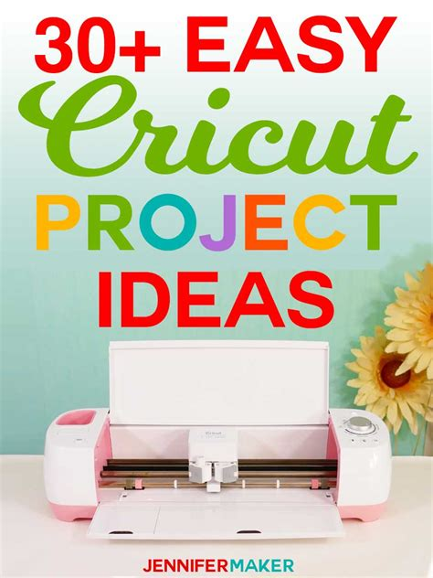 easy cricut project ideas fun   jennifer maker