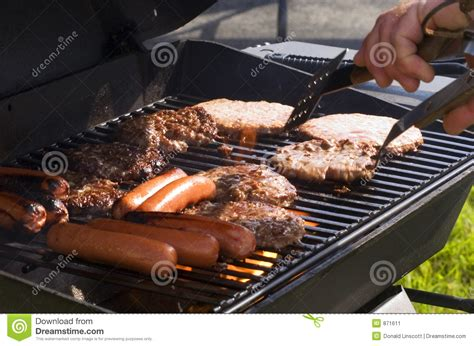 summer grill summer grilling stock image image 871611