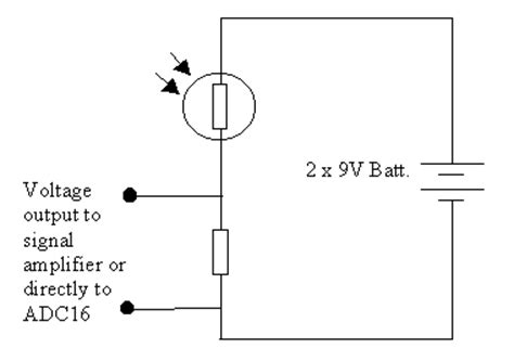 Figure Light Dependent Resistor Voltage Divider Circuits