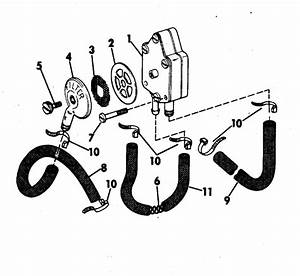 Johnson Fuel Pump Parts For 1978 70hp 70el78c Outboard Motor
