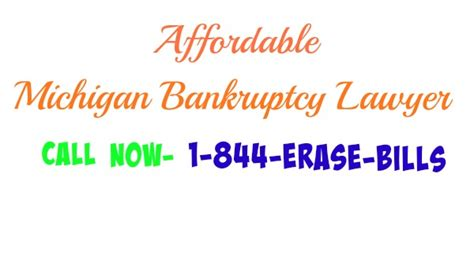 Affordable Local Bankruptcy Lawyer In Michigan