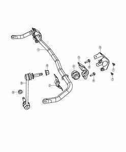 Dodge Challenger Stabilizer Bar  Front