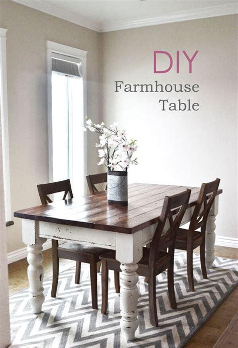 diy farmhouse kitchen table  heart nap time