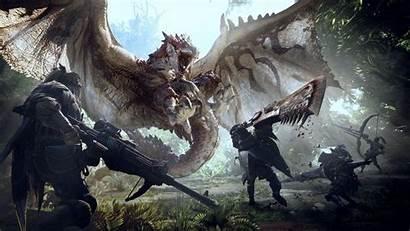 Hunter Monster Wallpapers 8k 4k Games