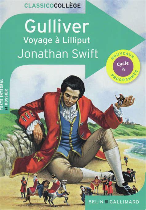 livre gulliver voyage  lilliput jonathan swift belin