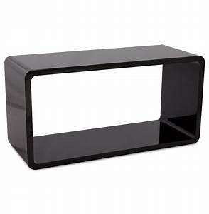 Boite En Bois Ikea : cube de rangement uno en bois noir meuble de rangement ~ Dailycaller-alerts.com Idées de Décoration
