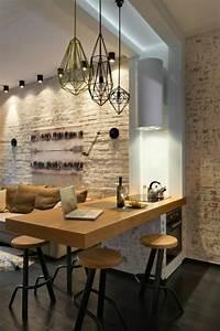 la suspension luminaire en fonction de votre interieur With plafonnier salle a manger pour deco cuisine