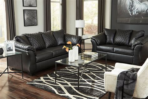 betrillo black living room set  signature design