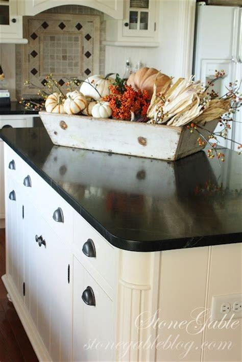 kitchen island centerpieces 37 cool fall kitchen décor ideas digsdigs
