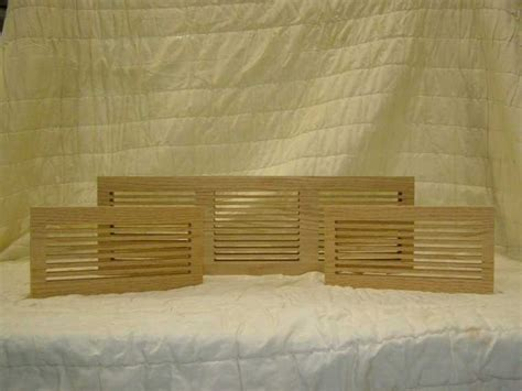 Constructing Wood Grilles for Floor Vents