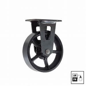 Roulettes Industrielles Anciennes : roue industrielle pour meuble courroie de transport ~ Teatrodelosmanantiales.com Idées de Décoration
