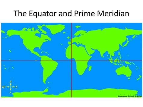 map   world  equator  prime meridian