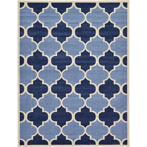 blue trellis rug unique loom trellis light blue 9 ft x 12 ft area rug