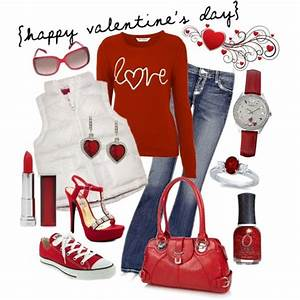 17 Best images about Valentines day outfits on Pinterest | Jean shirts Cute outfits for school ...
