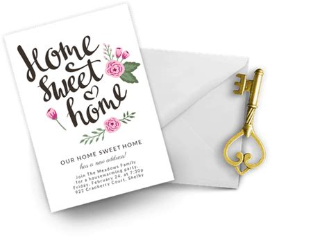 Housewarming Invitation Templates (Free) Greetings Island