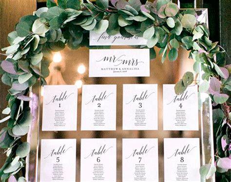9+ Wedding Seating Chart Templates