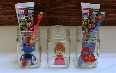 toothbrush holders for preschool easy toothbrush jars expressions vinyl hop wait 468