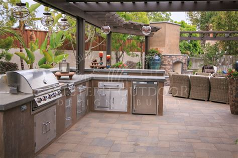 outdoor bbq kitchen ideas stucco finish bbq islands outdoor kitchens gallery
