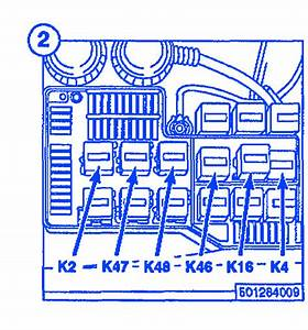 Bmw 318 1998 Main Fuse Box  Block Circuit Breaker Diagram