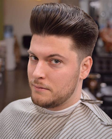 hairstyles for wide faces men fade haircut
