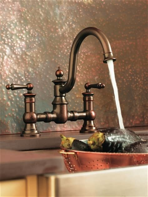 waterhill oil rubbed bronze  handle high arc kitchen