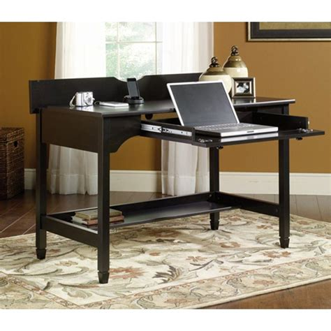 sauder edge water writing desk sauder edge water collection 46 in w x 24 in d x 29 in