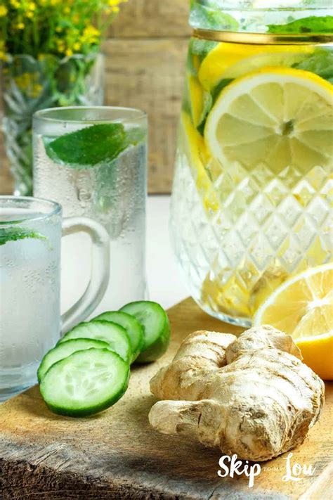 detox water  stay healthy  hydrated skip   lou