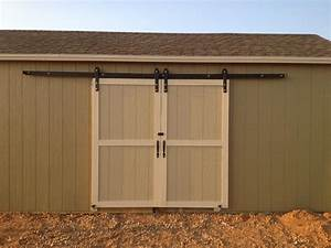 build your exterior barn doors with sliding With barn door tracks for sliding doors
