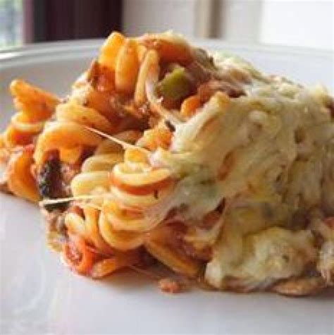pizza casserole crock pot pizza casserole recipe just a pinch recipes