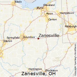 places    zanesville ohio