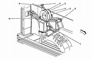 1999 Chevy Express 3500  15 Pax  Rear Heater    Ac Blower