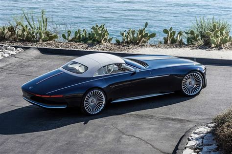 Vision Mercedes-maybach 6 Cabriolet Unveiled