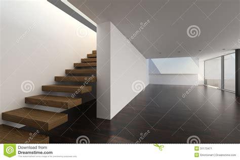 modern interior  wooden stairs interior architecture