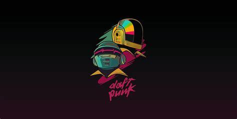 HD wallpaper: Minimalism, Music, Background, Daft Punk ...