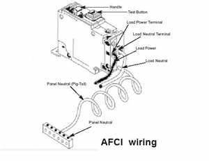 my son is trying to wire a series of 5 smoke detectors With breaking the circuit breakerthe testing of afci circuits
