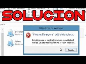 solucion documentslibrary ms dejo de funcionar youtube With documents library ms dejo de funcionar