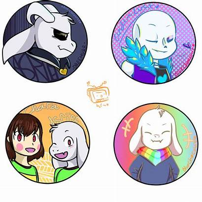 Ul Sans Icons Friends Asriel Nsfwshamecave Belong