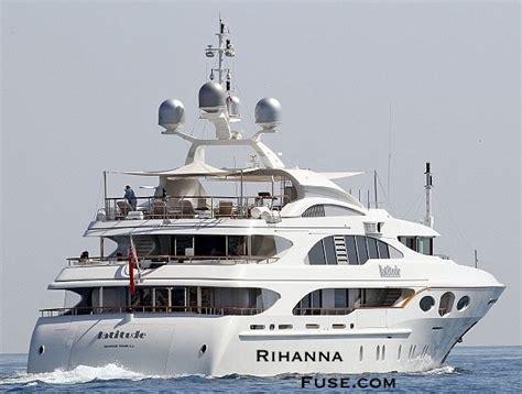 Yacht Love By Chance by Take A Look Inside Rihanna S Luxury Yacht Rihannafuse
