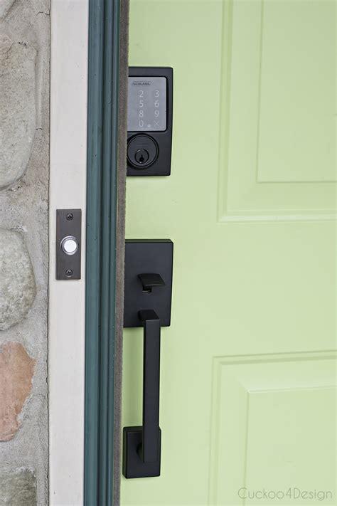 best bluetooth door lock our new schlage bluetooth smart door lock cuckoo4design