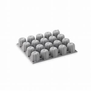 Mini Cannelés Bordelais : moule silicone 20 mini cannel s bordelais elastomoule de ~ Nature-et-papiers.com Idées de Décoration