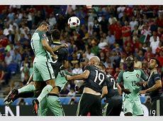 Portugal 20 Wales Cristiano Ronaldo and Nani net twice