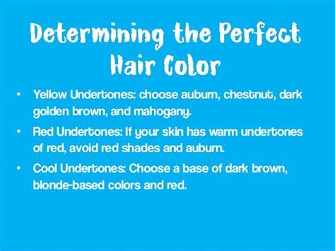 choose   hair color  fair skin