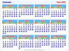Calendar2021