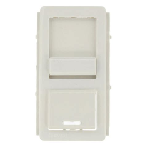 Leviton Color Change Face for Decora Dimmer, White IPKIT W