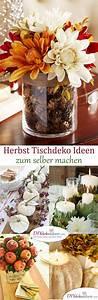 Tischdeko Selber Machen : 15 stimmungsvolle herbst tischdeko ideen zum selber machen ~ Watch28wear.com Haus und Dekorationen