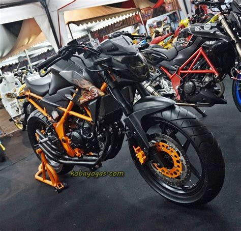 Cb 150r Modif by 5 Modifikasi Honda All New Cb150r Led
