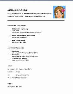 resume writing anne breakable With easy resume samples