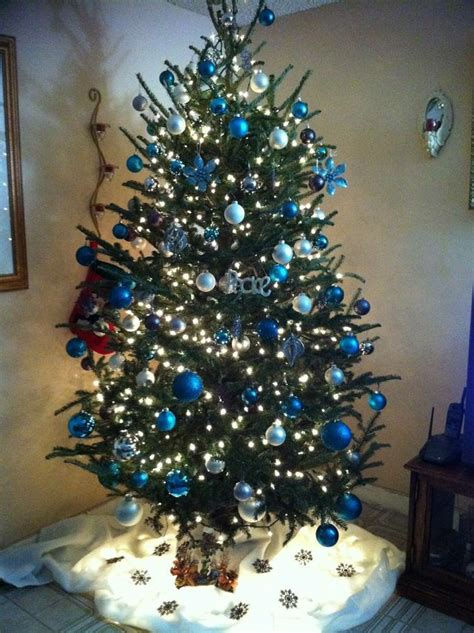 45 best images about blue and silver christmas on pinterest