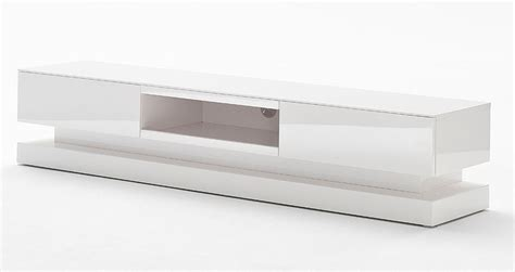 meuble tv laque blanc design pas cher